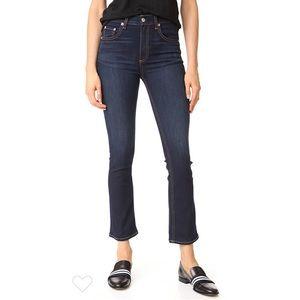 NWOT Rag & Bone Hana High Rise Cropped Jeans 27